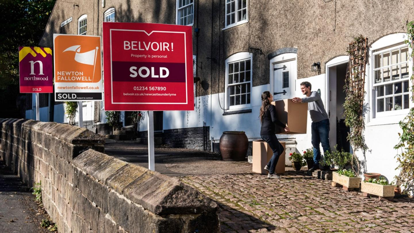 Letting Agent House Signs