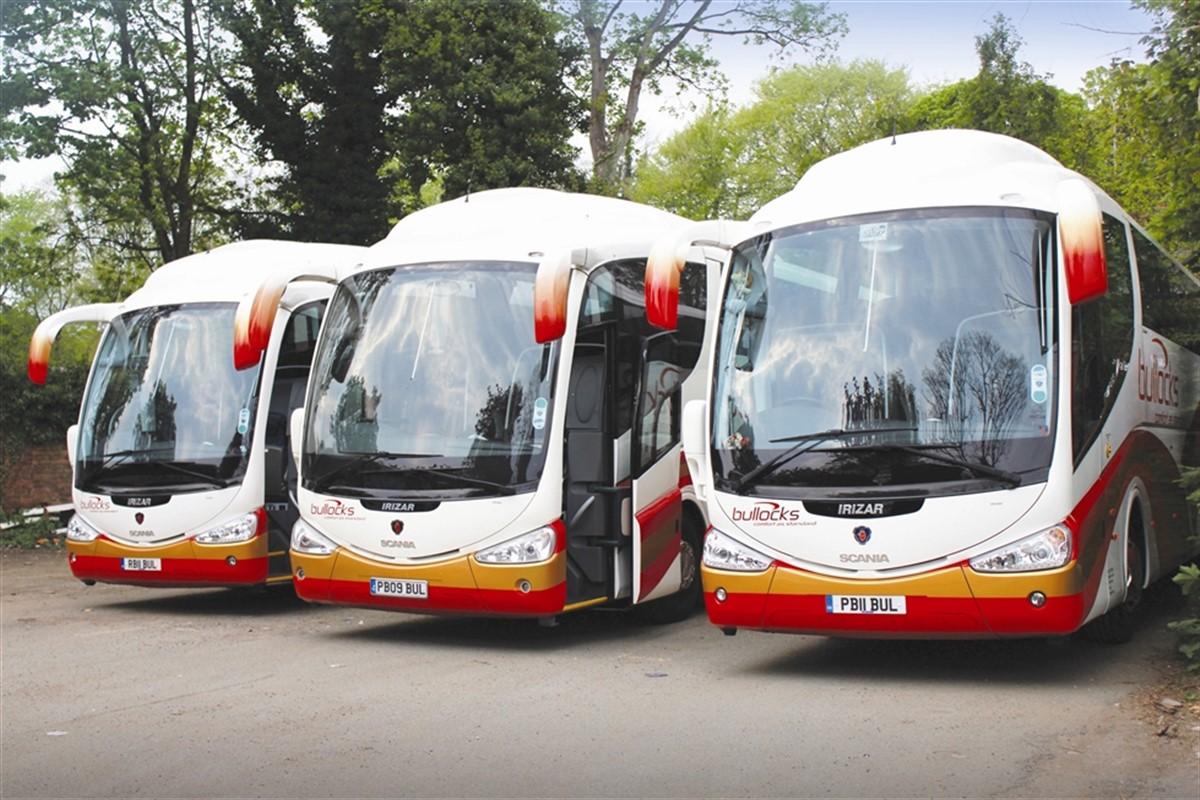 Bullocks Coaches 158 PM Service