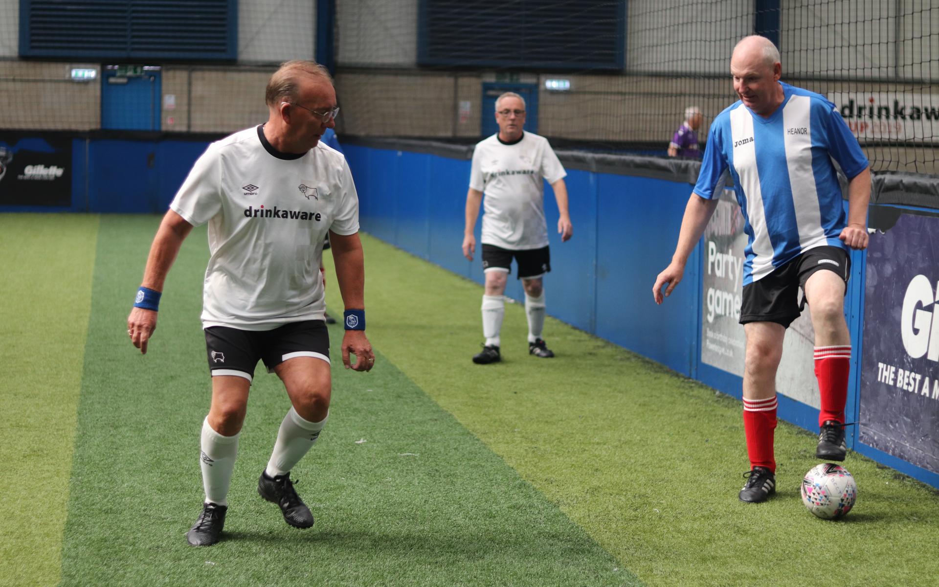 Walking footballers