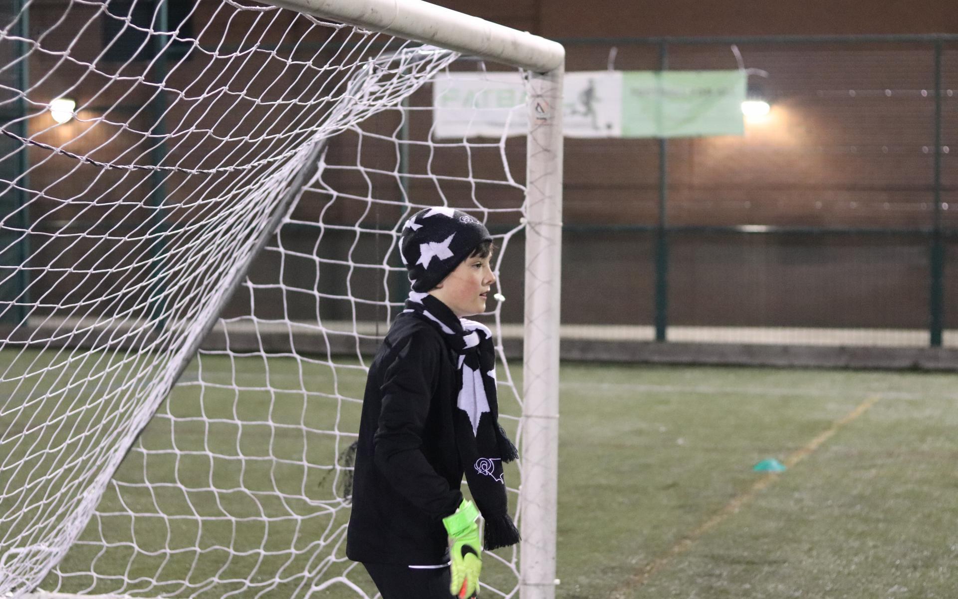 Child in goal