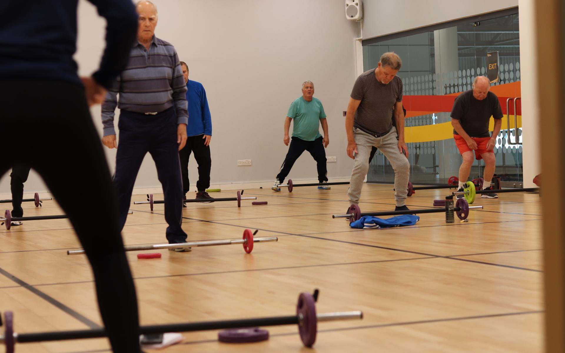 Participants enjoy the return of Fit Therapy