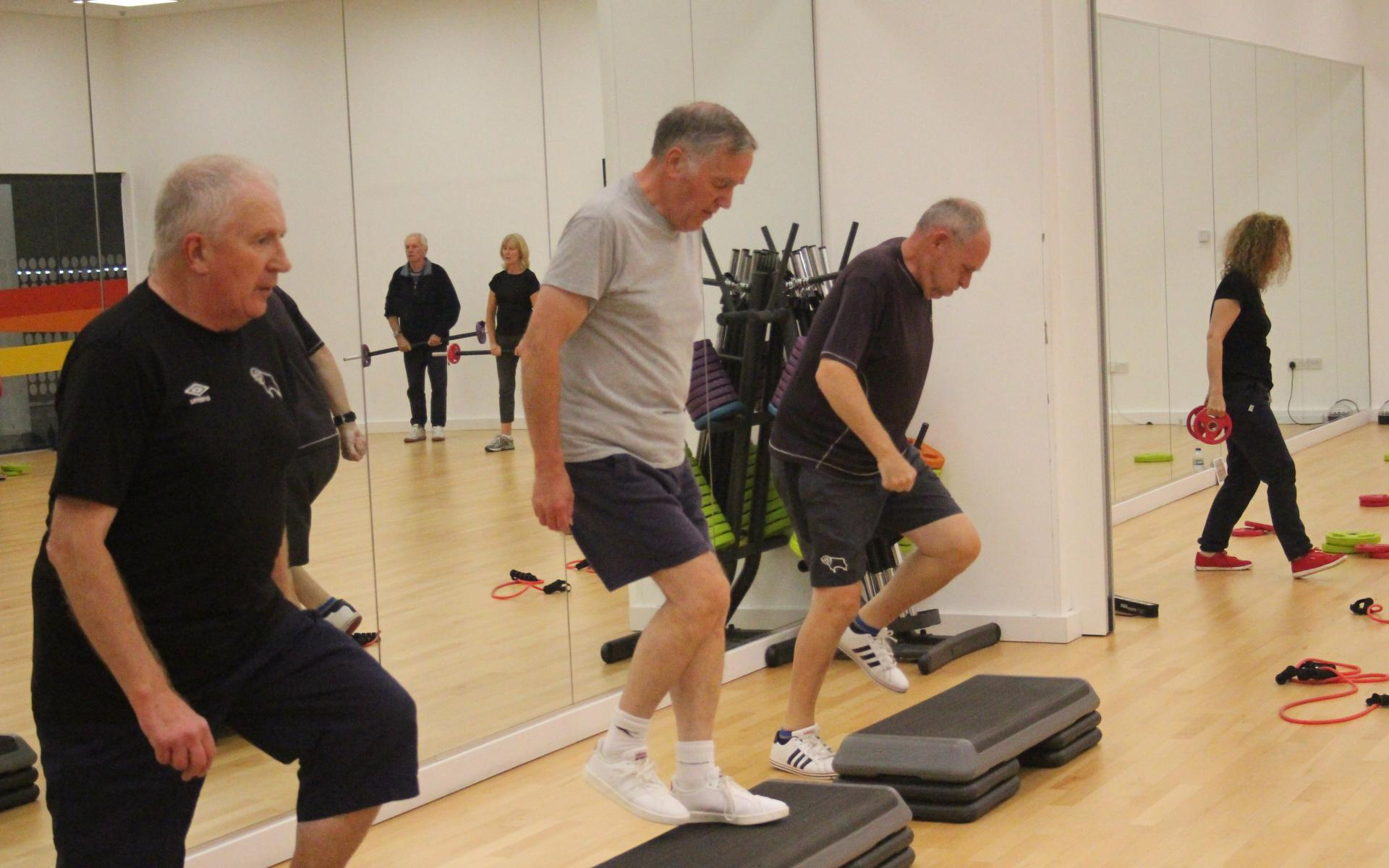 Over 50s Fitness session