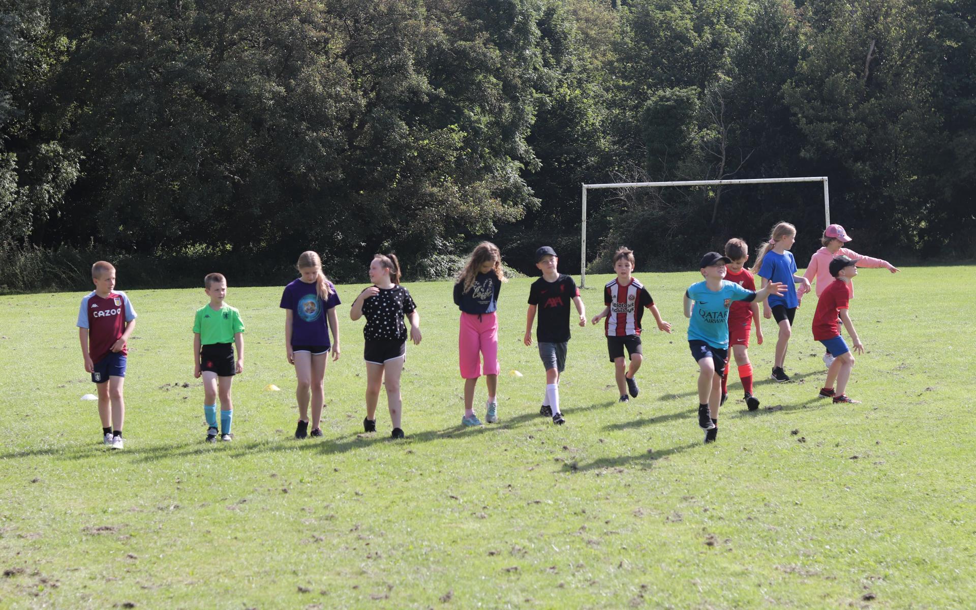Participants enjoy sport at Somersall Park