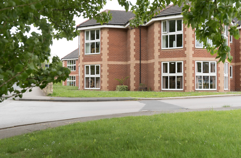 Kingfisher View care home in Castleford