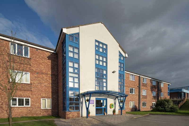 Scotia Heights care home in Stoke