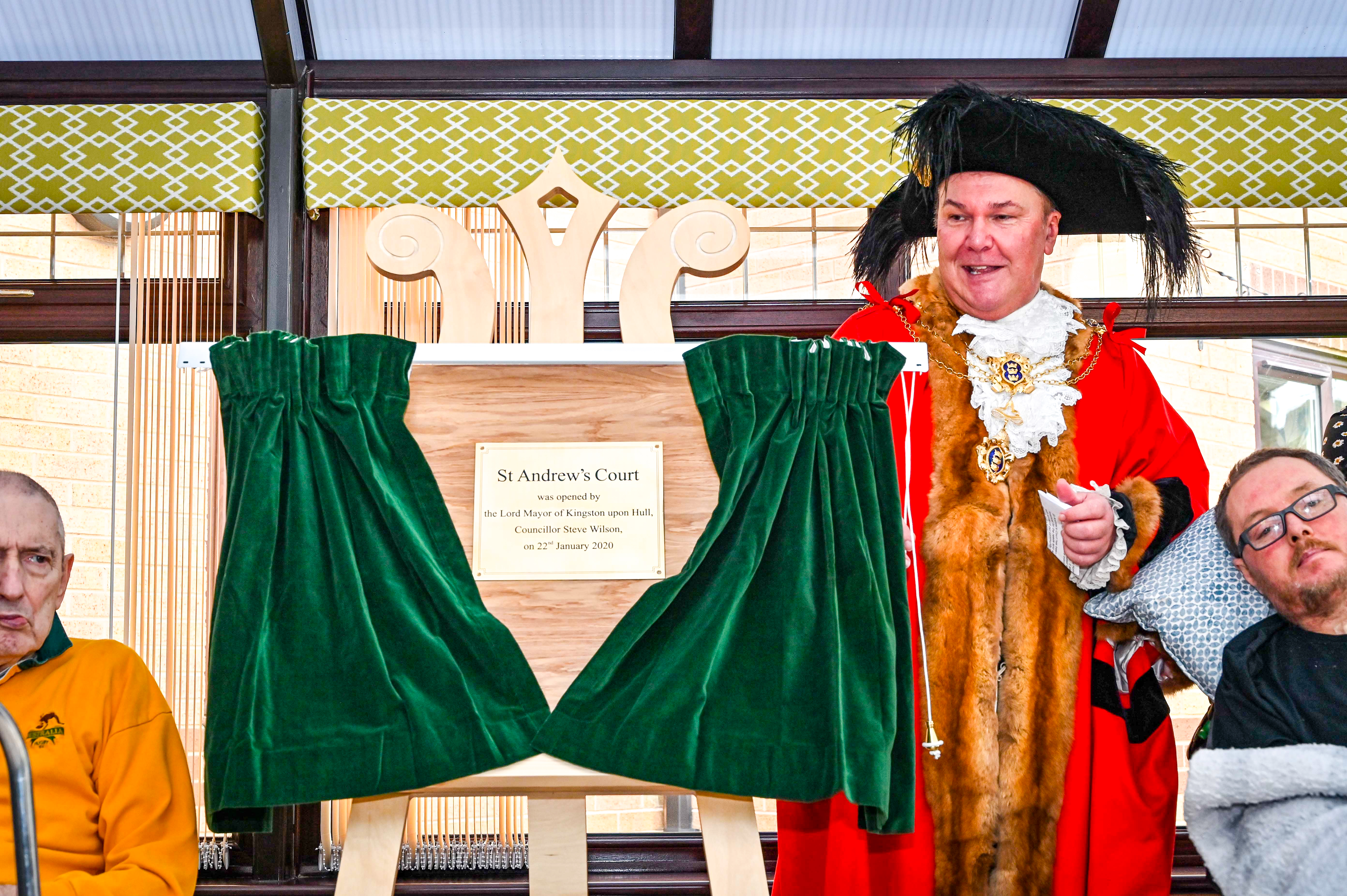 St Andrew's court opening Lord Mayor1