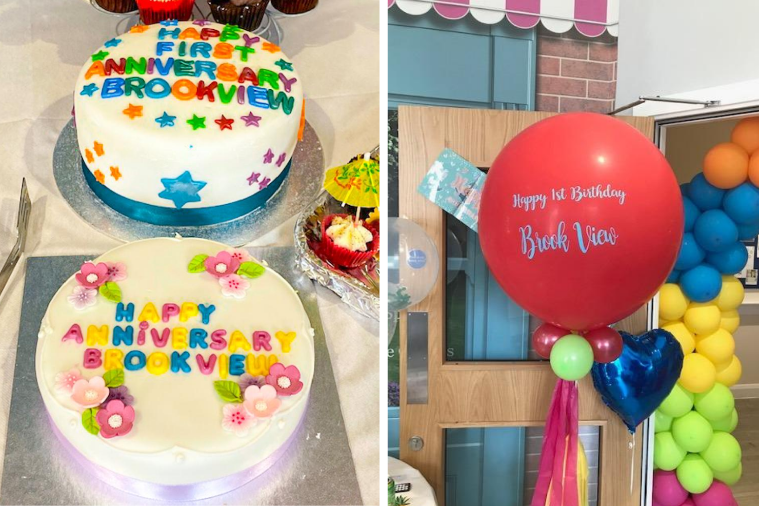 brook view care home complex first birthday party