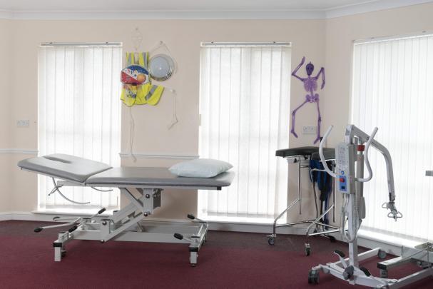 Fairburn Vale treatment room