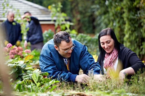Quarryfields garden
