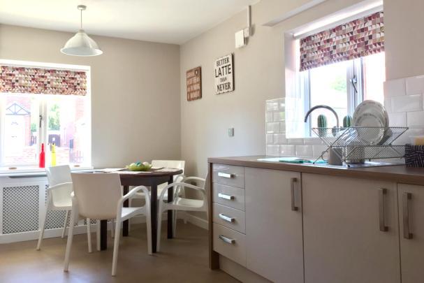 Neville Court kitchen