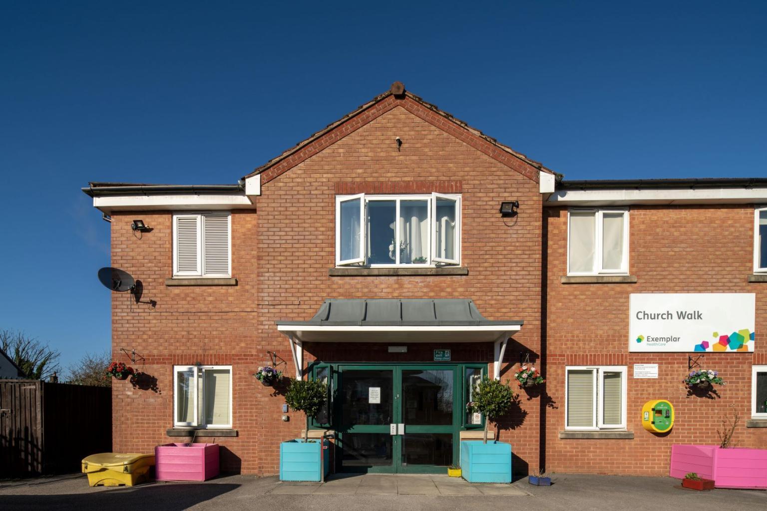 Church Walk care home in Rochdale