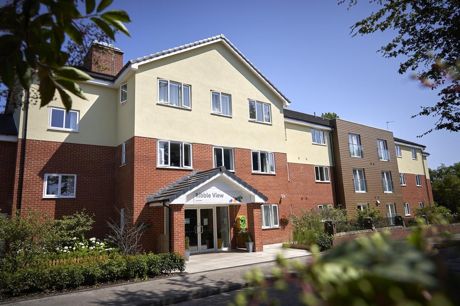 Ribble View care home in Preston