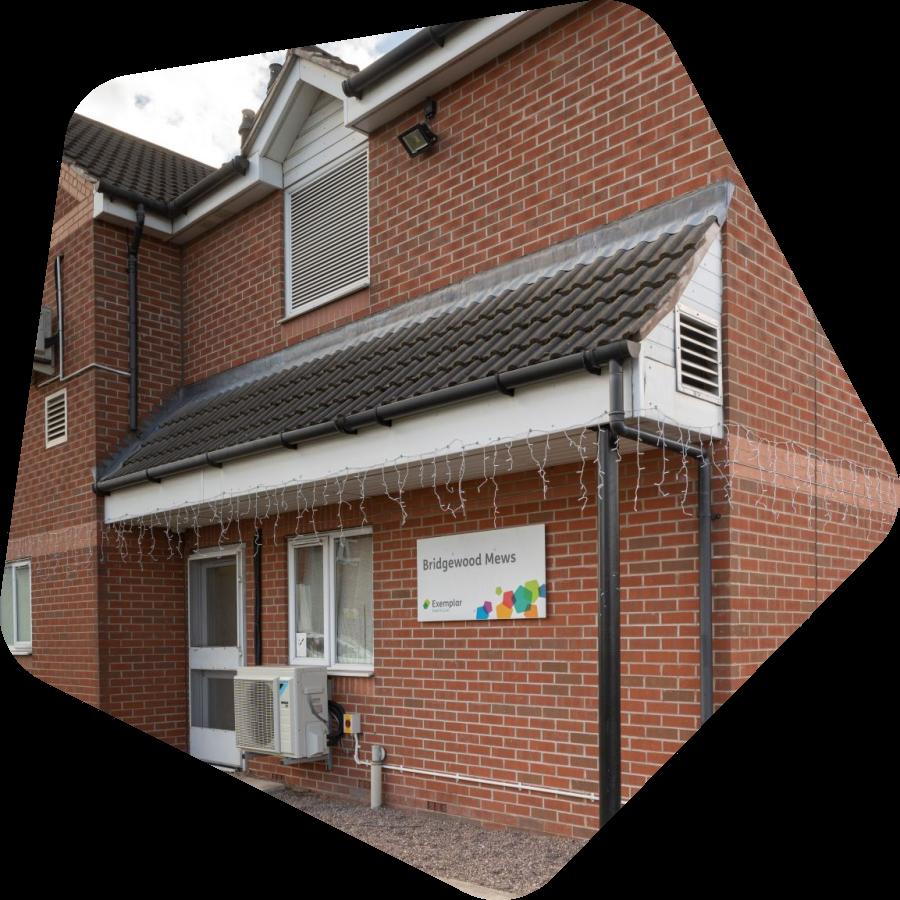 Bridgewood Mews care home in Tipton