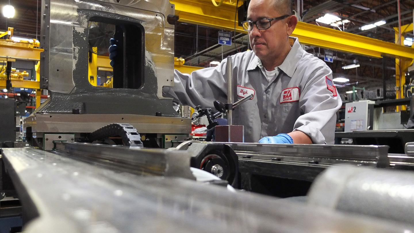 Haas automation Column assembly