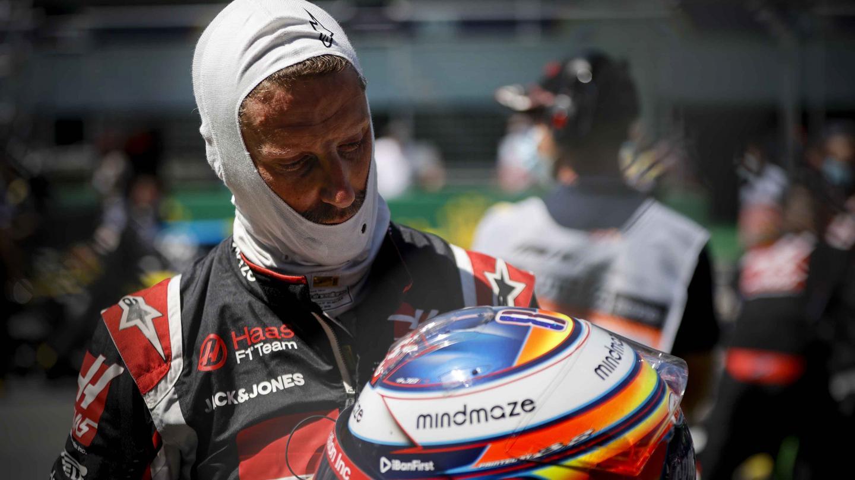Romain Grosjean grid