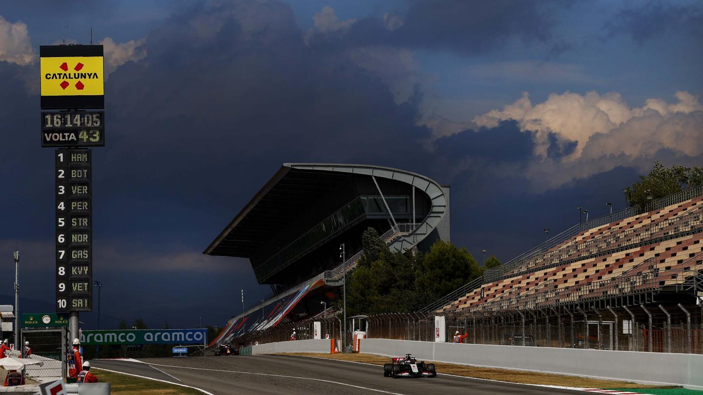 Romain Grosjean, Spanish Grand Prix