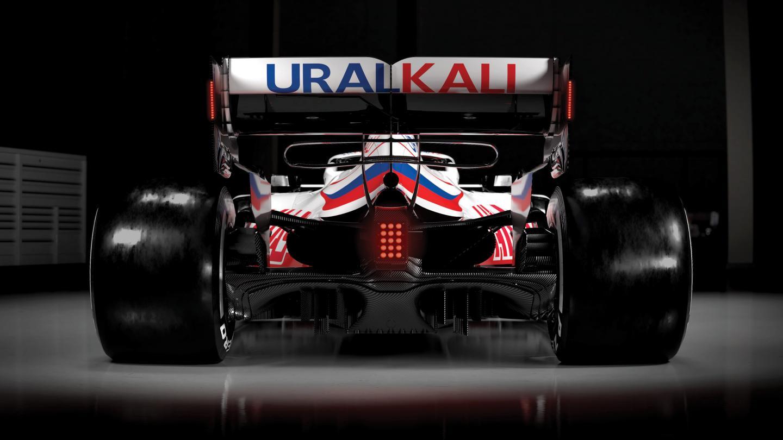 Uralkali rear wing