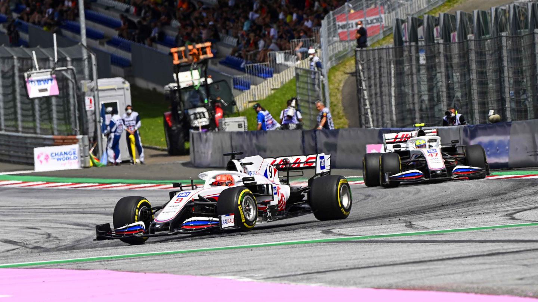 Nikita Mazepin and Mick Schumacher, Uralkali Haas F1 Team