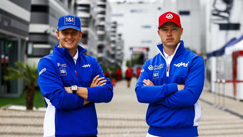 Mick Schumacher and Nikita Mazepin