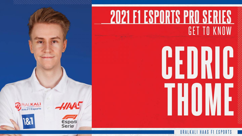 Cedric Thome, Uralkali Haas F1 Esports