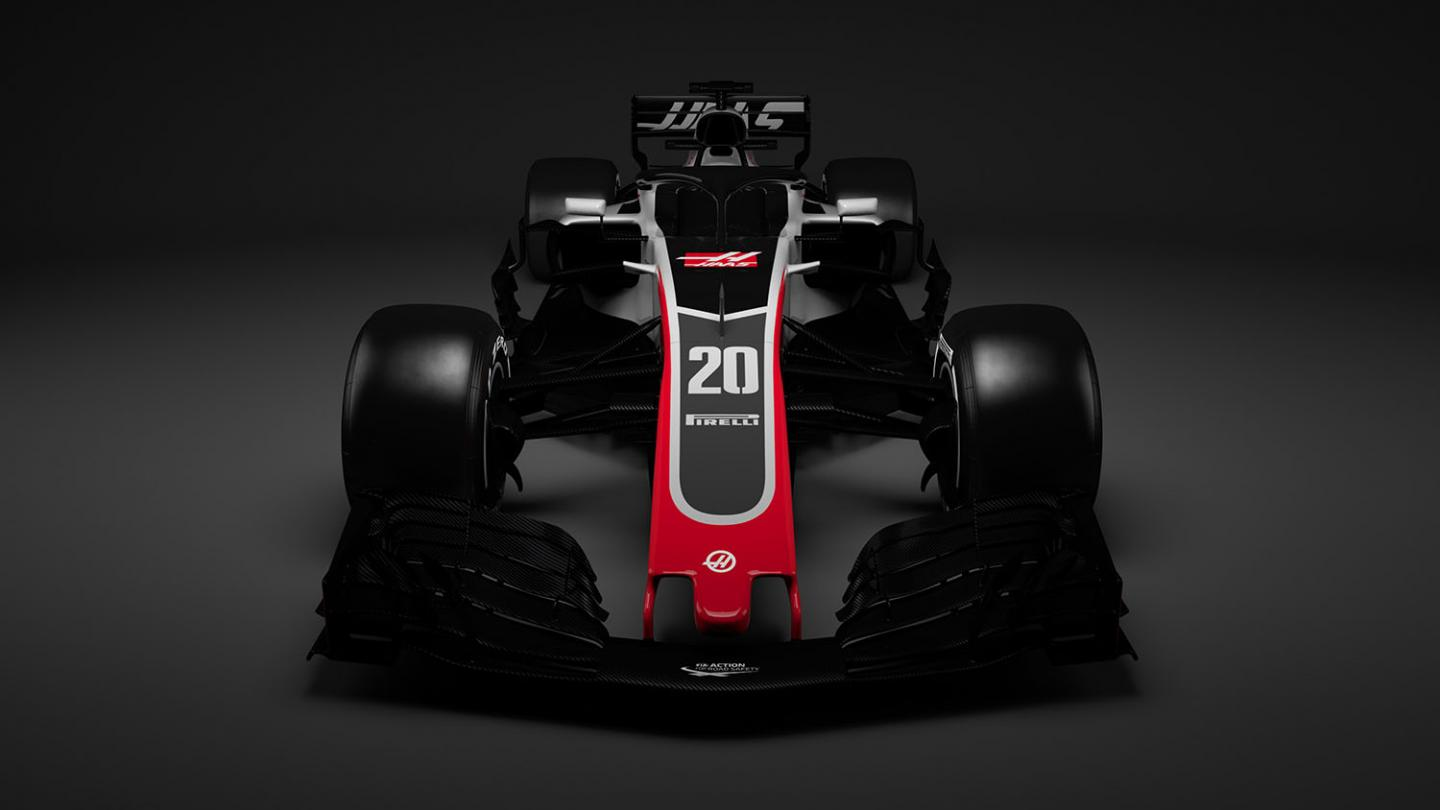 Haas VF-18 First Out the Gate
