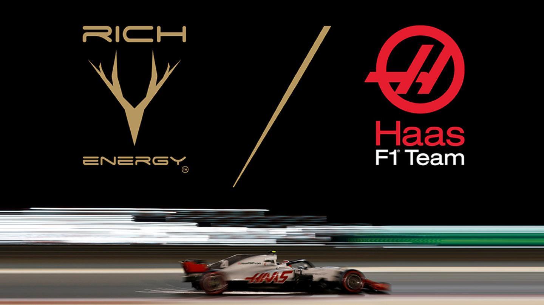 NEWS: Rich Energy Announced as Haas F1 Team Title Partner