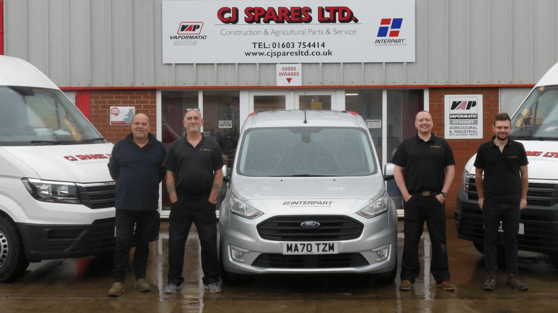 CJ Spares - Interpart Distributor