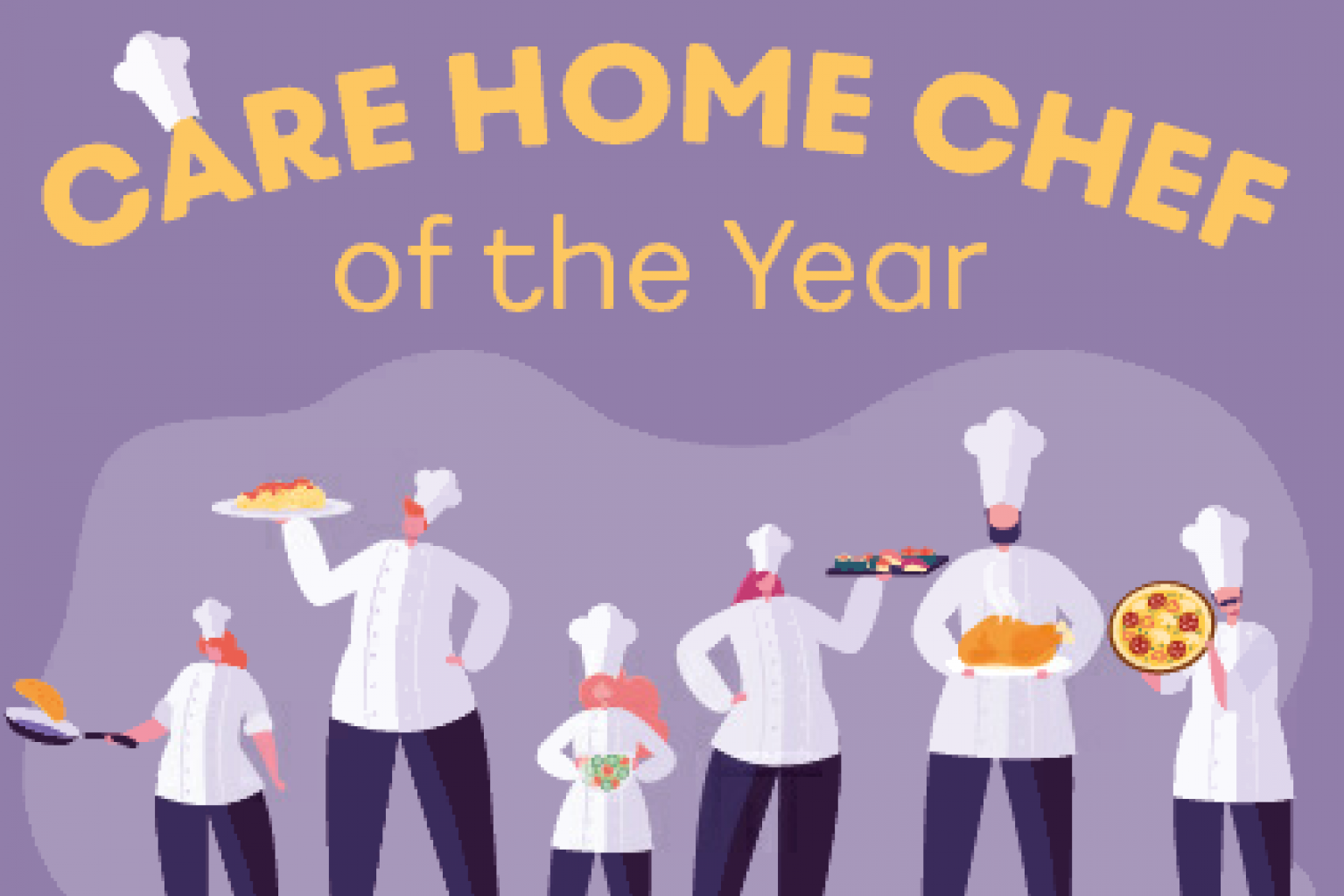 Chef of the Year banner
