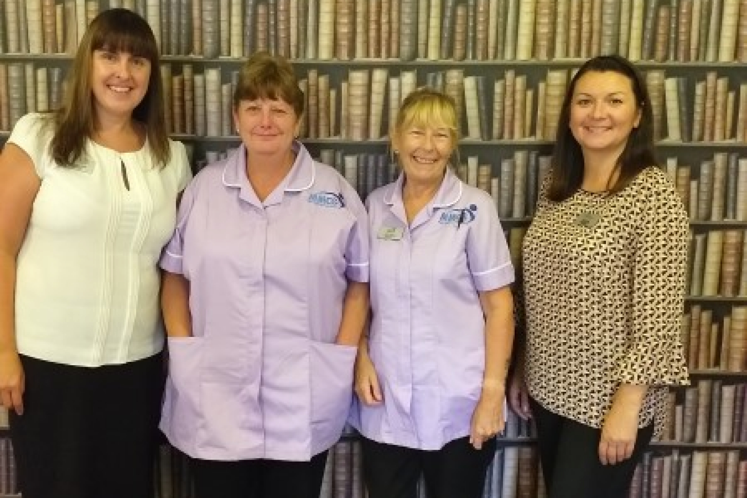 Four Willowdene Care Home staff members