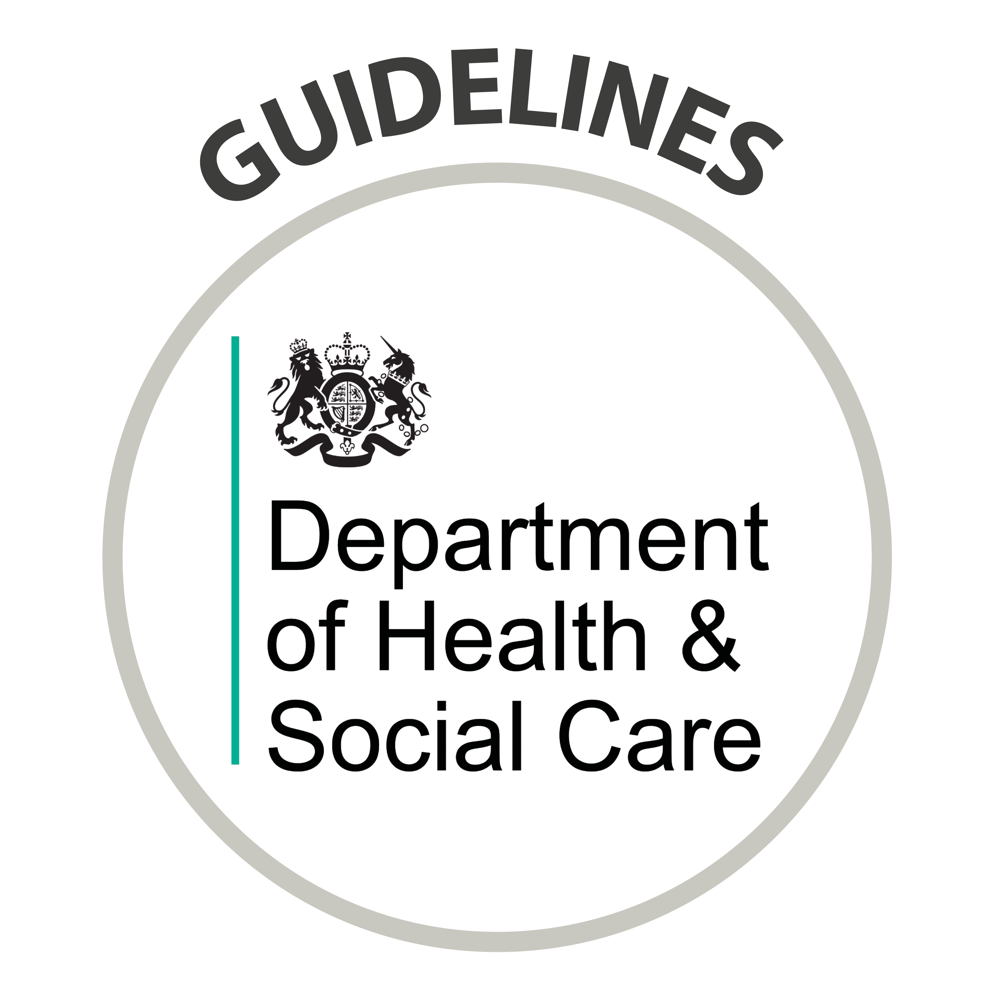 Guidelines - Department of Health & Social Care Logo