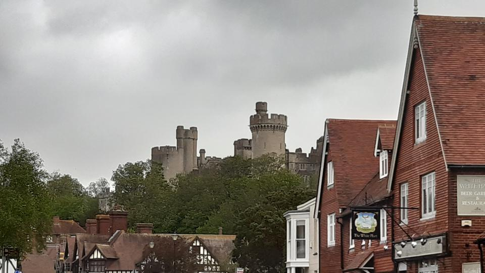 Arundel Castle from the High Street