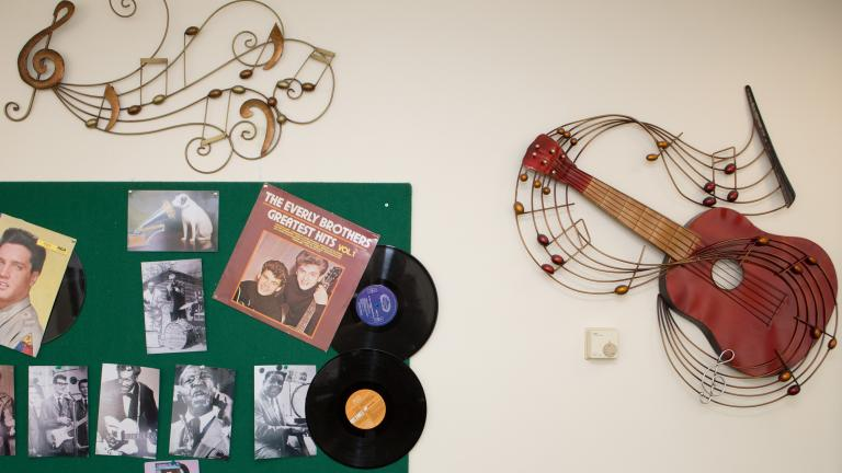 old station house music room