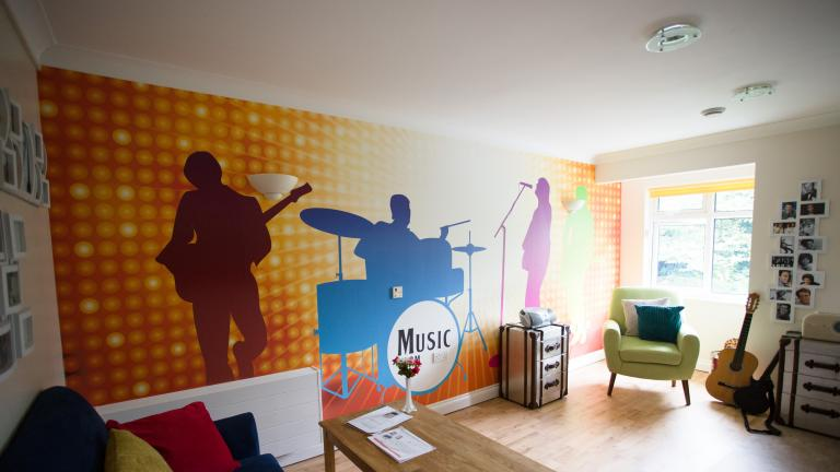 The Meadows Music room