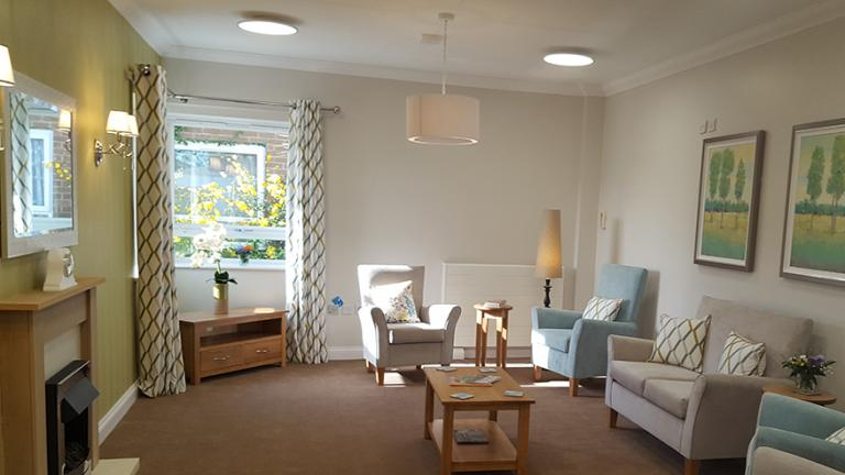Dementia Household Lounge area