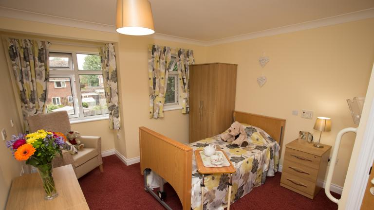 Bedroom at Coombe End Court