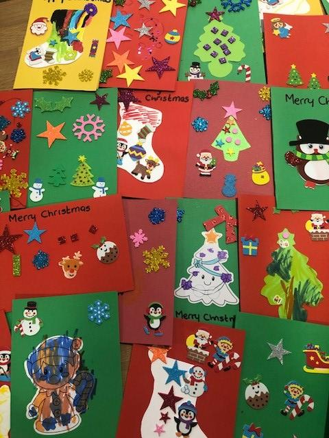 Christmas cards from Cricklade Pre-school