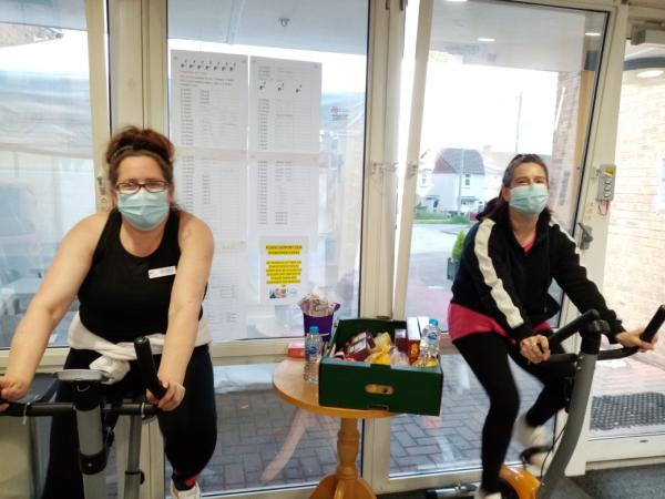 Rodley House cycle challenge for Dementia Action Week