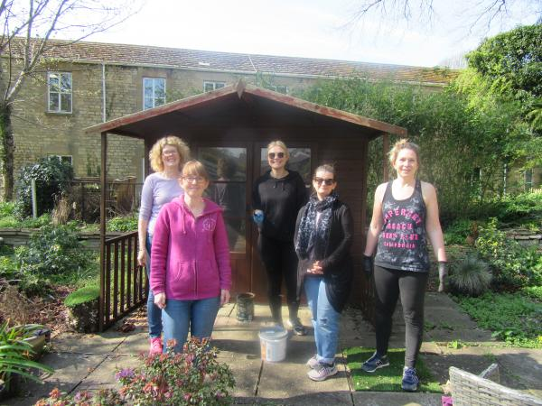 Garden makeover from St James Place