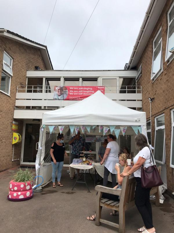 Fundraising at Rodley House
