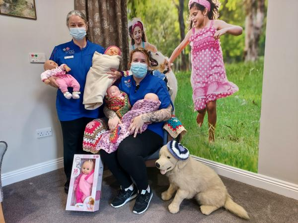 Doll donations bring joy to residents