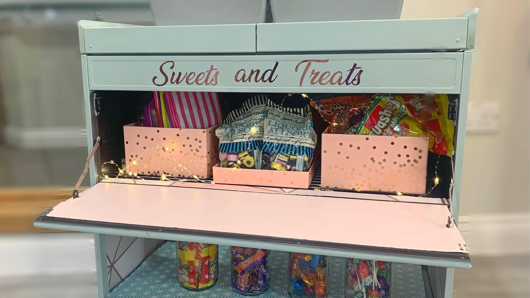 Sweets trolly