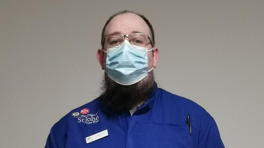 Gareth has not looked back since becoming a carer for OJCT