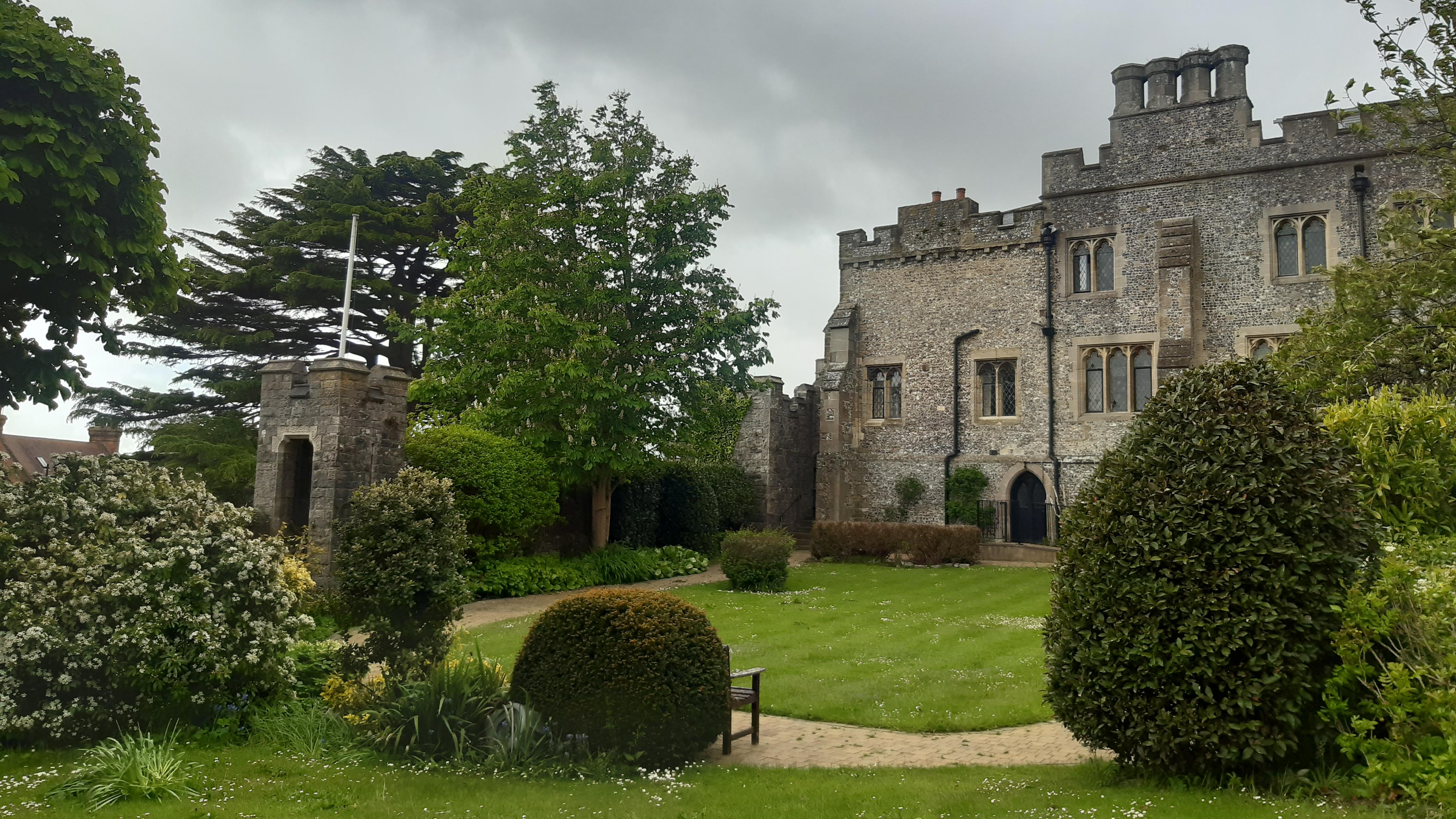 St Wilfrid's Priory from the garden