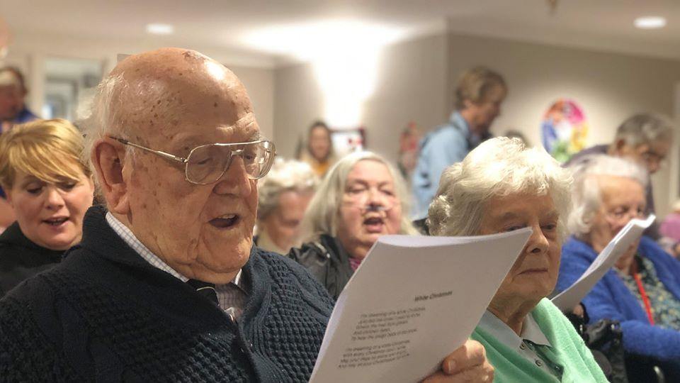Christmas Singalong at Grace Care Centre