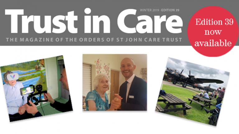 Trust in Care banner