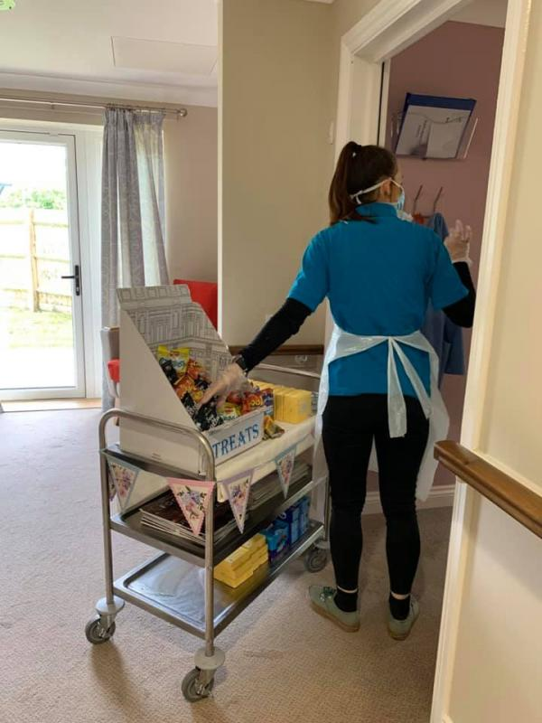 Treats Trolley at The Lakes Care Centre