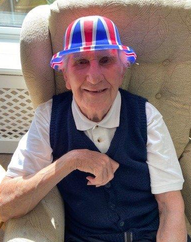Richard was getting everyone in the spirit for VE Day Eresby Hall.