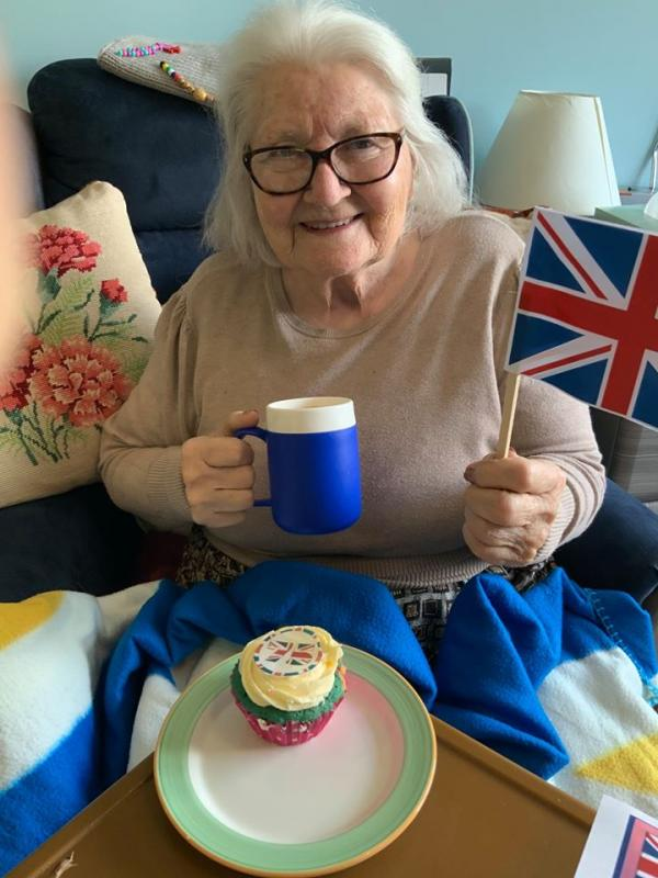 VE Day celebrations at Edwardstow Court