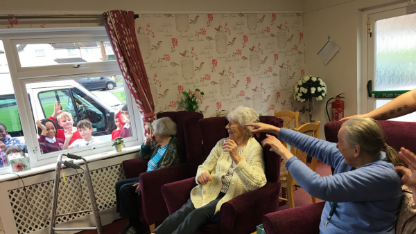 Keeping in Contact at Buckland Court