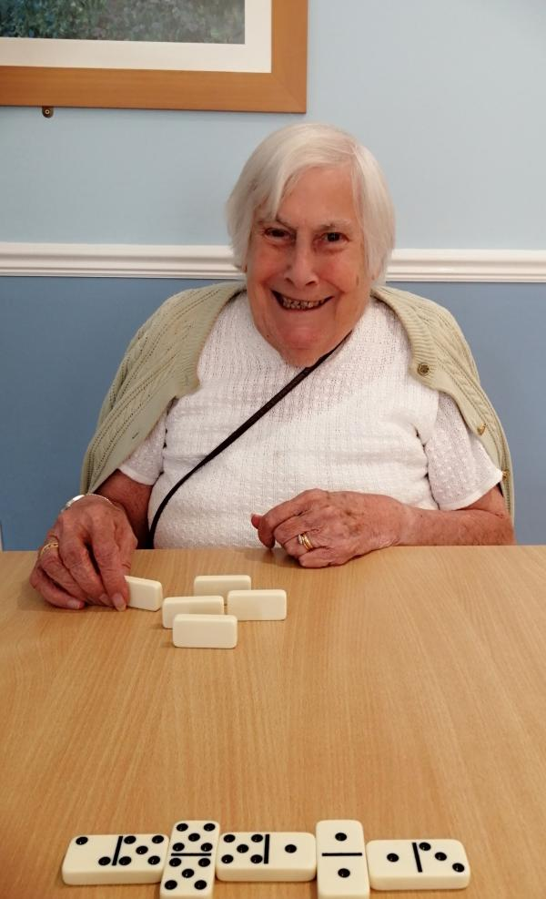 Smiles and dominoes
